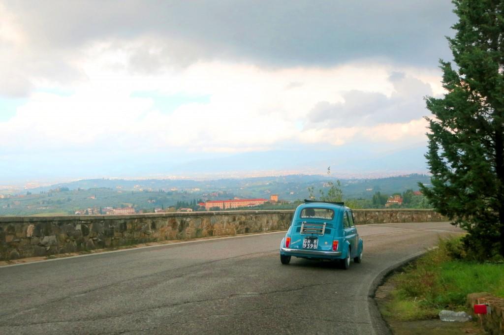 Fiat tour Florence, Tuscany