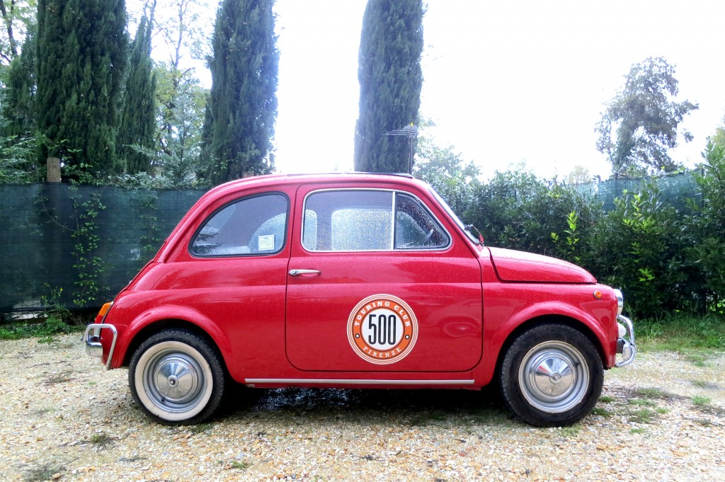 Fiat 500 tour in Florence