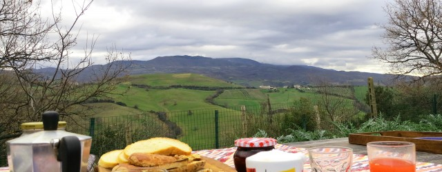 lunch in Maremma
