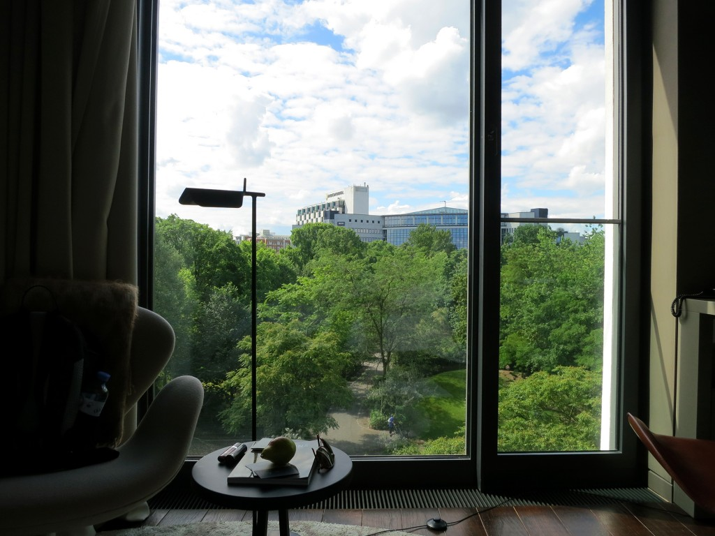 Berlin Das Stue hotel view