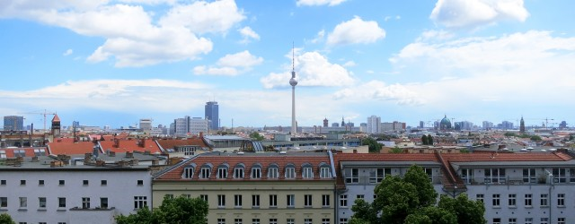 Berlin tower from the church