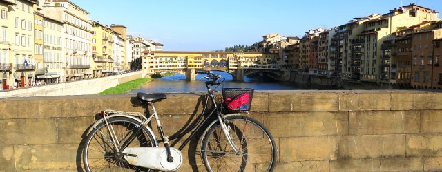 Bike ride in Florence Tuscany
