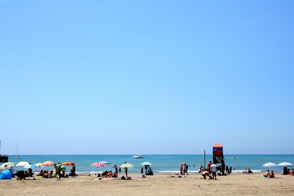 Castiglione della Pescaia beach in Maremma