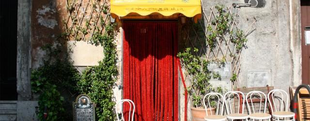 Sora Margherita restaurant in Jewish Ghetto