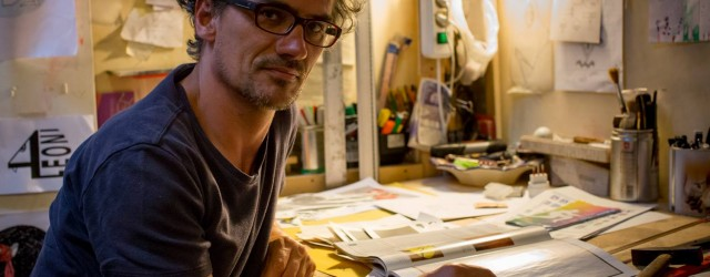 Clet Abraham artist in Florence