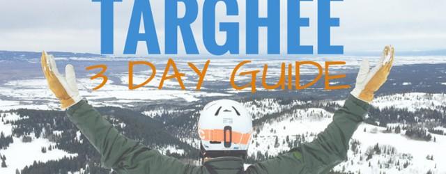 3 DAY GUIDE TARGHEE, WYOMING USA