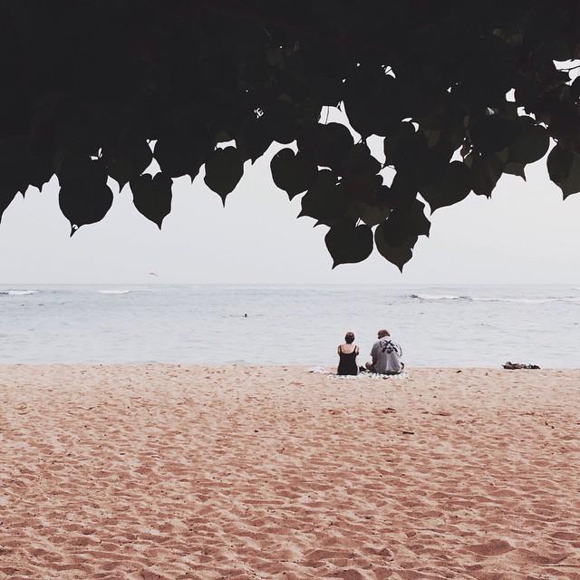 Beach minimal #waikiki #lastweek