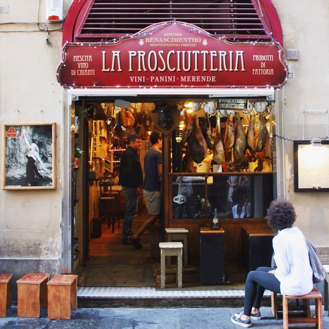 One of my favorites in Florence. #prosciuttoheaven #italiansigns
