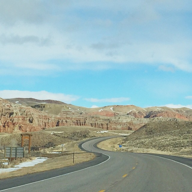 America has curves #igerswyoming #roadportrait