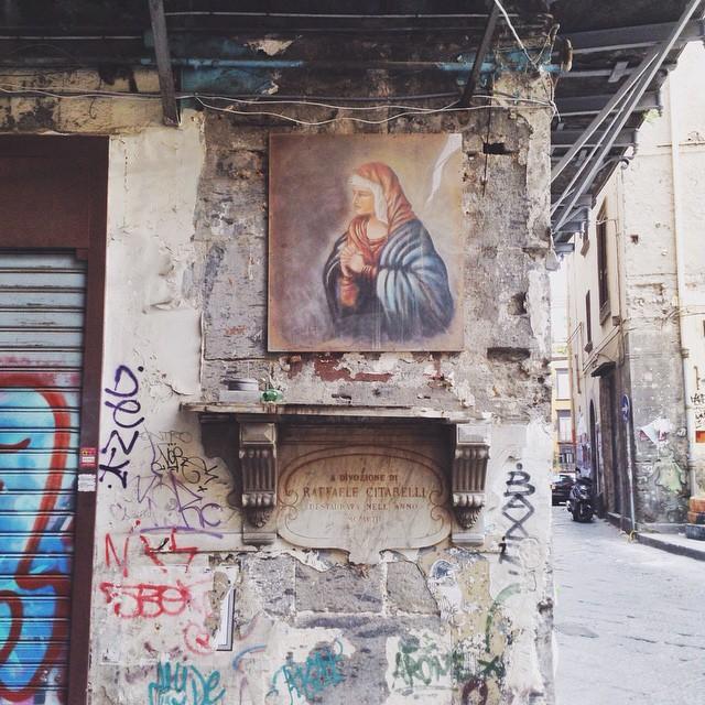 Street art #naples #ilbellooilvero #forumculture