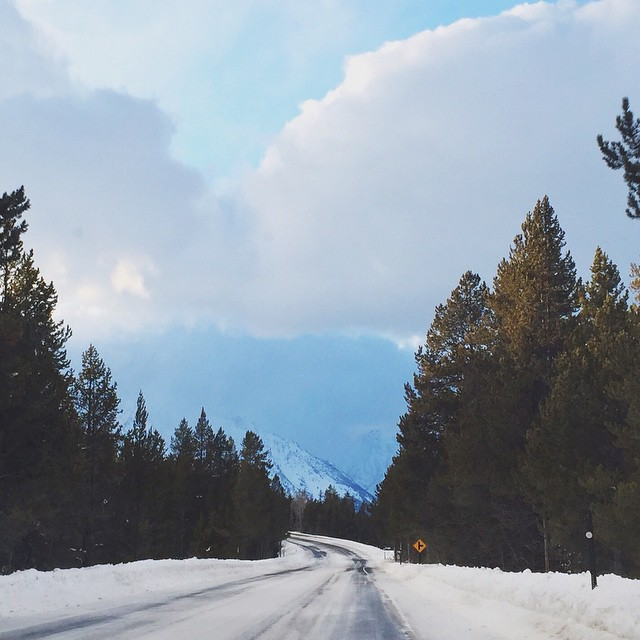 I love to drive, especially on curves. What do you love? #winterwonderland