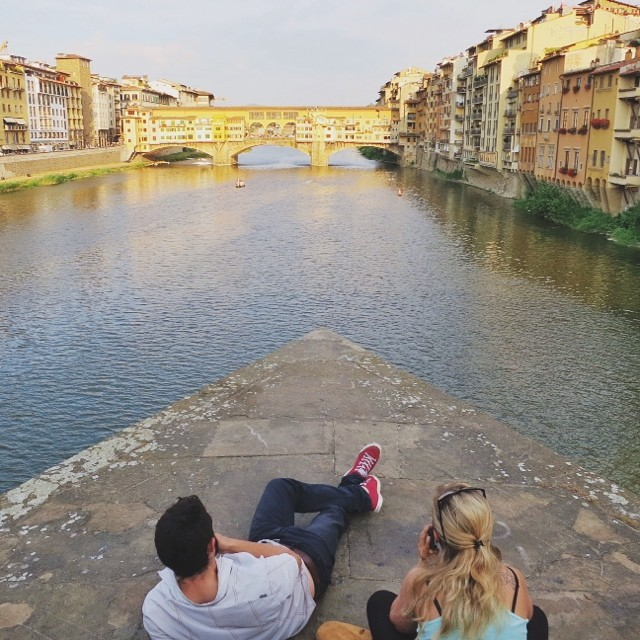 Best seat in the house! #florence