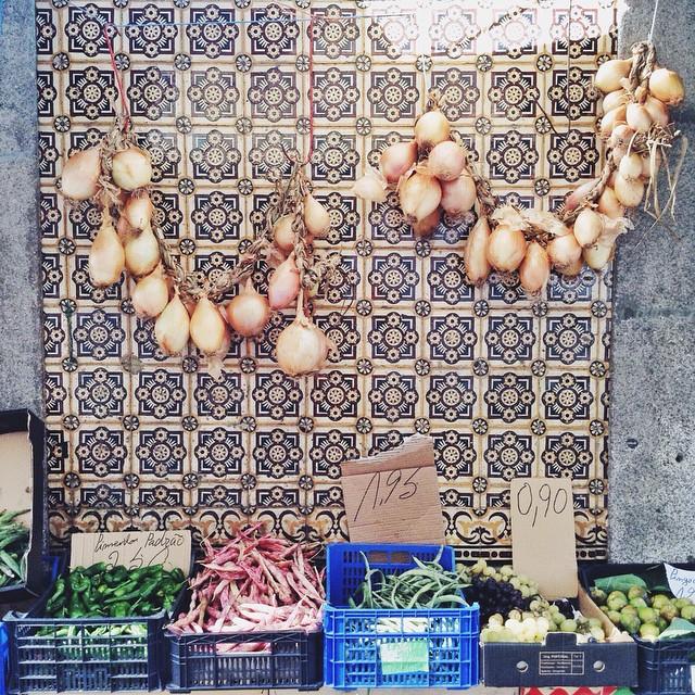 Groceries in Porto #portuguesetile #latergram
