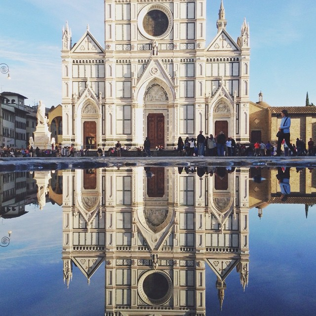 Sometimes all people see are reflections of themselves #florence #puddlegram
