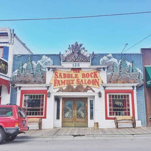 Western façade #jacksonhole #westisbest