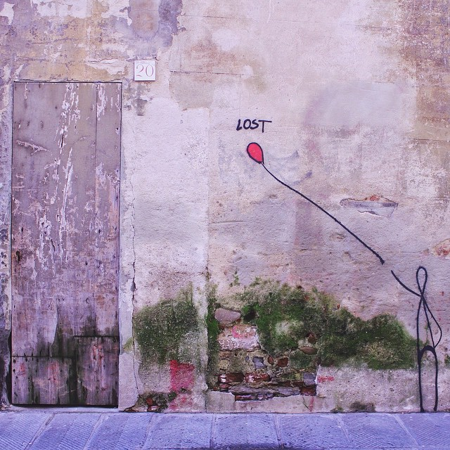 I love getting lost in Florence, especially when I'm showing a friendly Instagramer around the city, great hanging with you yesterday @fredrdgz, your photos are killing it😉 #florencevibes #whatitalyis [street artist: Exit/Enter]