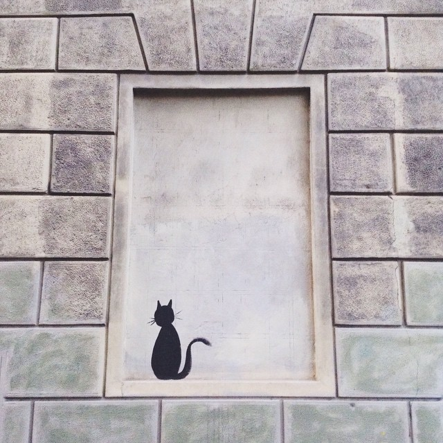 Felix the Cat is alive and well #florencevibes #streetart