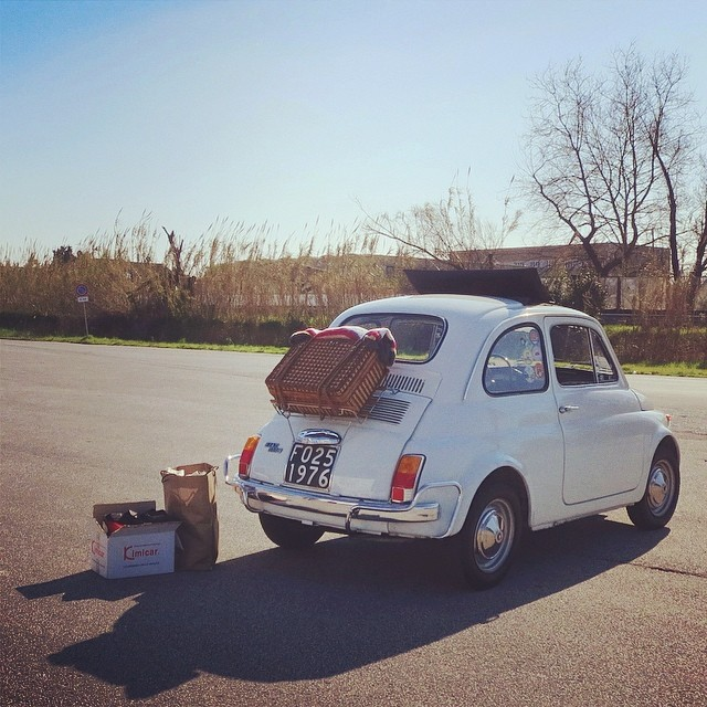 Going somewhere? #viareggio #findyourfiat #roadtrip