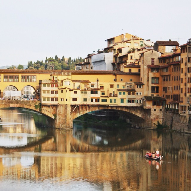 What downtown looks like #florence #pontevecchio